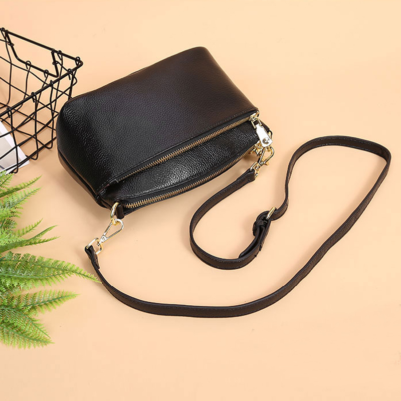 Female Handbags Soft Genuine Leather Shoulder Bag Women's Shoulder Bags