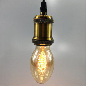Vintage BT58 Edison Bulbs AC 1
