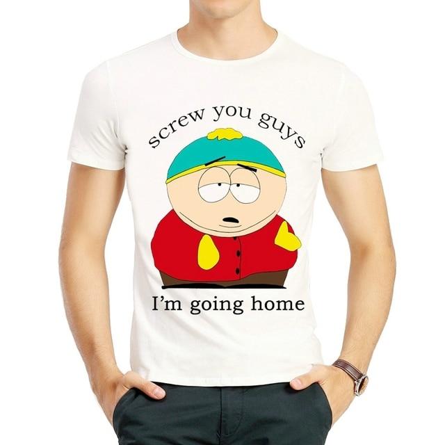 04c166c4bd494 South Park Cartman T Shirt Fashion Gets an Anal Probe South Park tshirt  Cartman T-shirt Top Tees T Shirt Screw You Guys