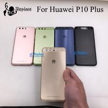 Para Huawei P10 Plus P10Plus VKY L29 VKY AL00 VKY L29A cubierta trasera de batería carcasa de puerta carcasa piezas de vidrio traseras