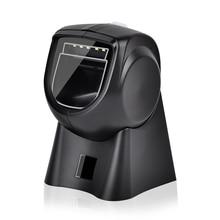 OBS-2003 сканер штрих-кода USB POS 2D считывания штрих-кода автоматического сканирования PDF417 EAN Code128 рабочего всенаправленный 2D сканер штрих-кода QR для супермаркета сканер сканер для документов