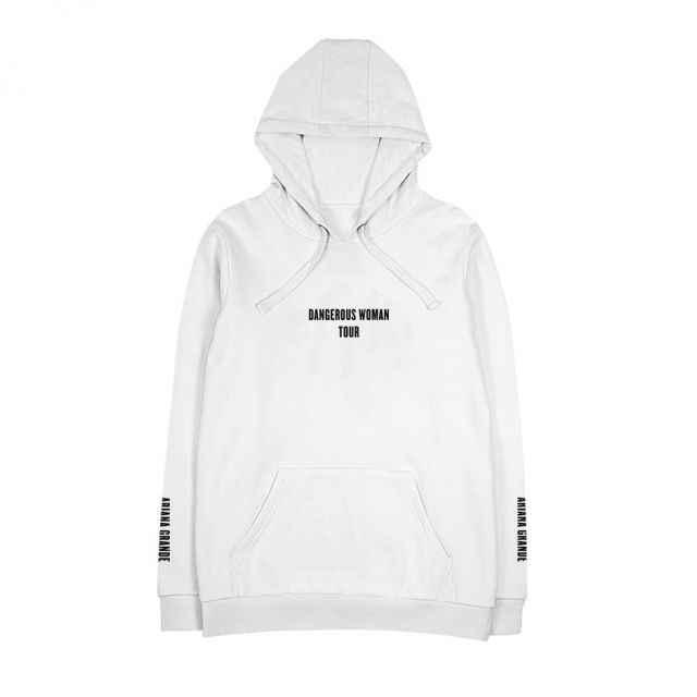 f58ca055463 Exclusive Hoodies Dangerous Woman 2018 Tour Bunny White Black Hoodie Womens  sweatshirts Fashion Streetwear Hooded