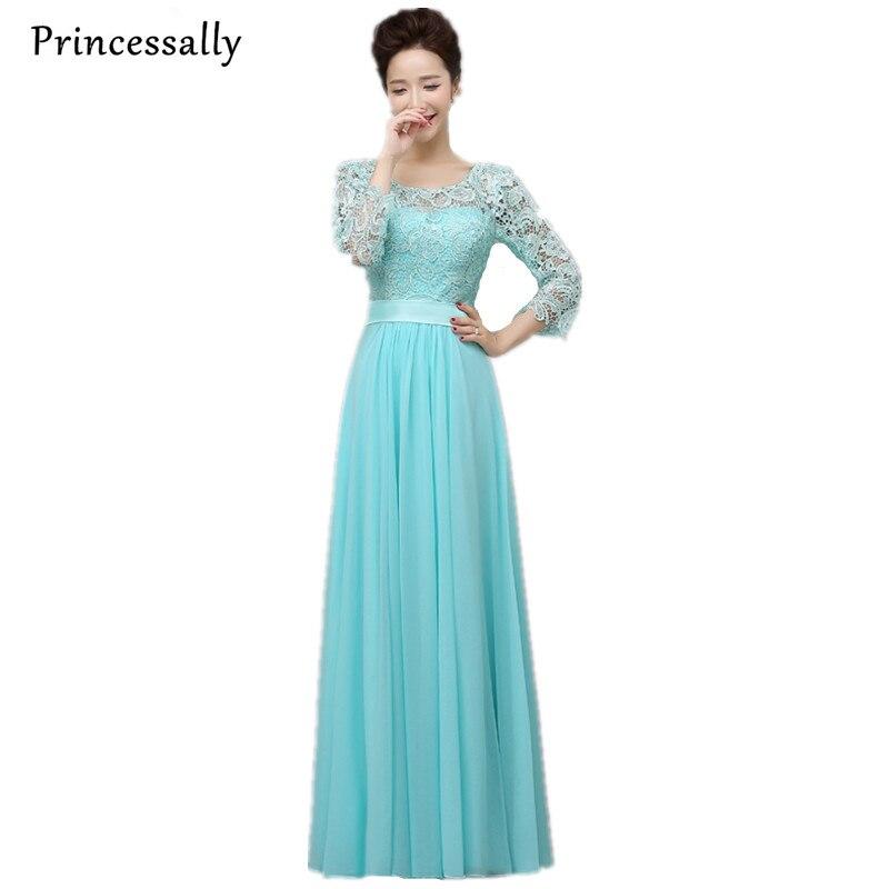 Online Shop Bridesmaid Dresses Light Blue Wine Red Emerald Hot Pink ...