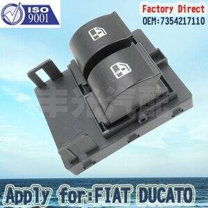 Завод прямой Электрический двойной переключатель окна подать заявку на FIAT DUCATO передний правый 735461275/7354217110/7355329080