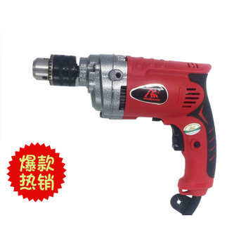 цена на Hand-held electric drill manufacturer directly supplies hand gun electric drill portable high-power electric household tools