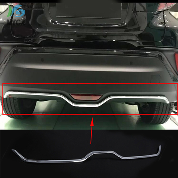 2016 2017 2018 For Toyota C-HR CHR C HR Stainless Rear Trunk Boot Tailgate Door Lid Cover Molding Trim Protectors Car accessory