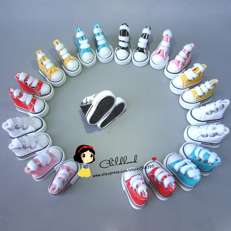 35cm x 2cm x 3cm Doll Shoes for Blythe Licca Jb Doll Mini Shoes for Russian Doll 16 BJD Sneakers Shoes Boots