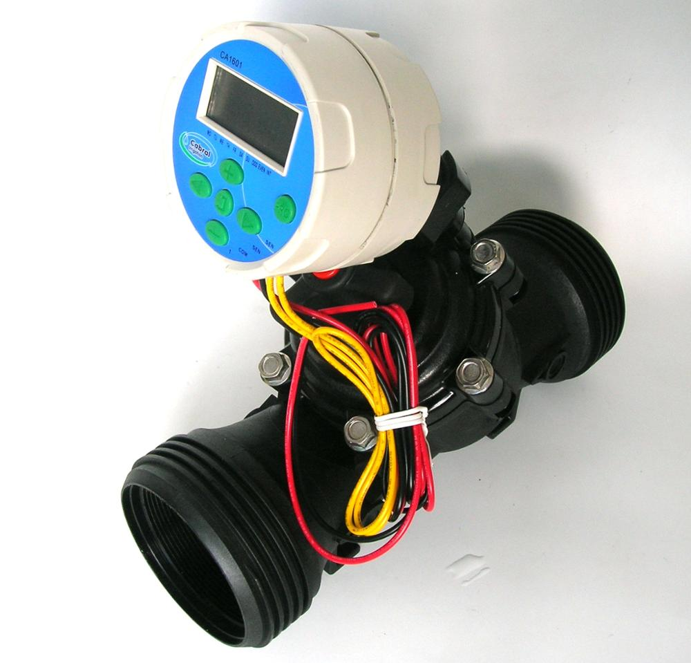 Automatic irrigation systems Battery Operated Timer with Valve  Drip Irrigation Solenoid Valve Controller