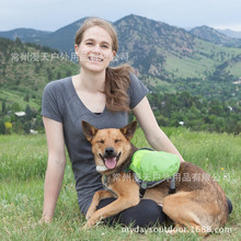 MDSTOP 2017 NEW Green Oxford Dog Saddle Bag Medium Large Big Dogs Backpack for Outdoor Hiking Camping travel Pet Carrier