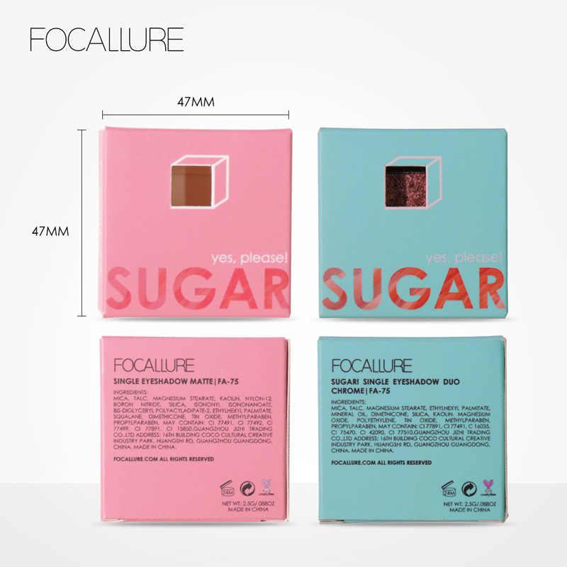 Focallure צלליות גליטר יחיד הבלחה צלליות איפור חם אופנה ורך עושים לכל סוג של עור