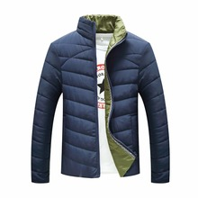 Зимняя Куртка Мужчины Новый мужской Хлопок Пальто Молнии Мужская Куртка Повседневная Пиджаки Для Мужчин Плюс Размер Одежды Мужской 3XL
