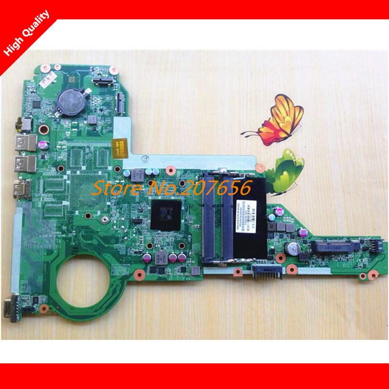 ФОТО For HP 15-E 17-E Series Notebook PC motherboard DA0R76MB6D0 734004-001 734004-501 With CPU A4-5000