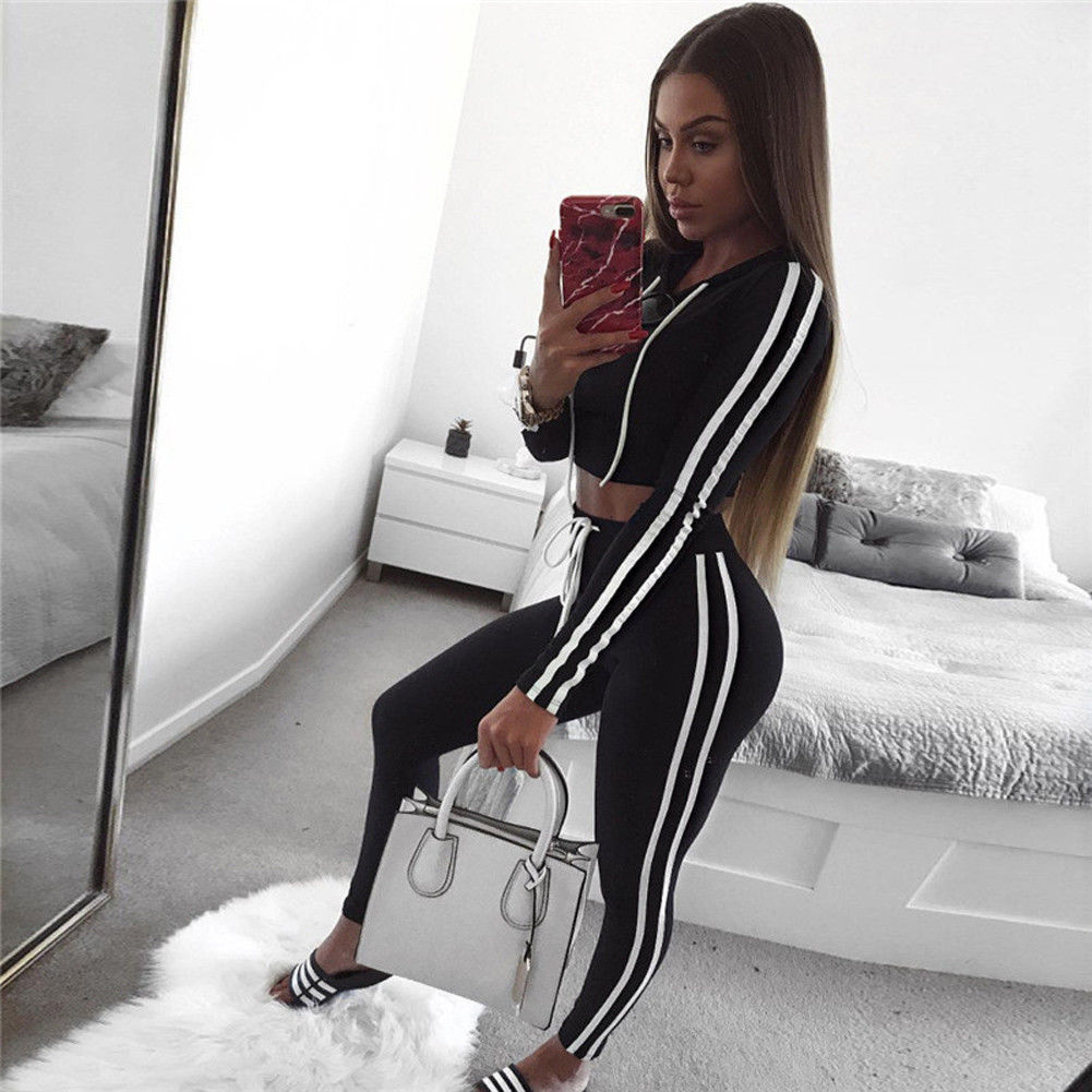 365872920c16 Buy women gym outfit long sleeve and get free shipping on AliExpress.com