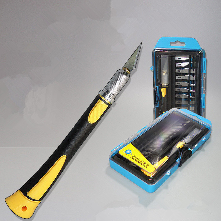 DIY WL-9312/9305/9304 Hobby Knife Set /carving Knife/lettering Knife Wholesale Pen Knife PCB Tools Cutte Set, Wood & Paper-cut