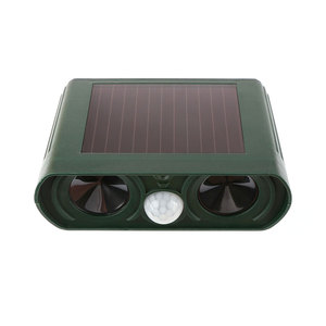 Image 5 - Outdoor Waterproof Solar Power Ultrasonic Animal Pest Mouse Repeller PIR Sensor Garden Cat Dog Fox Repellent Keep Animals Away