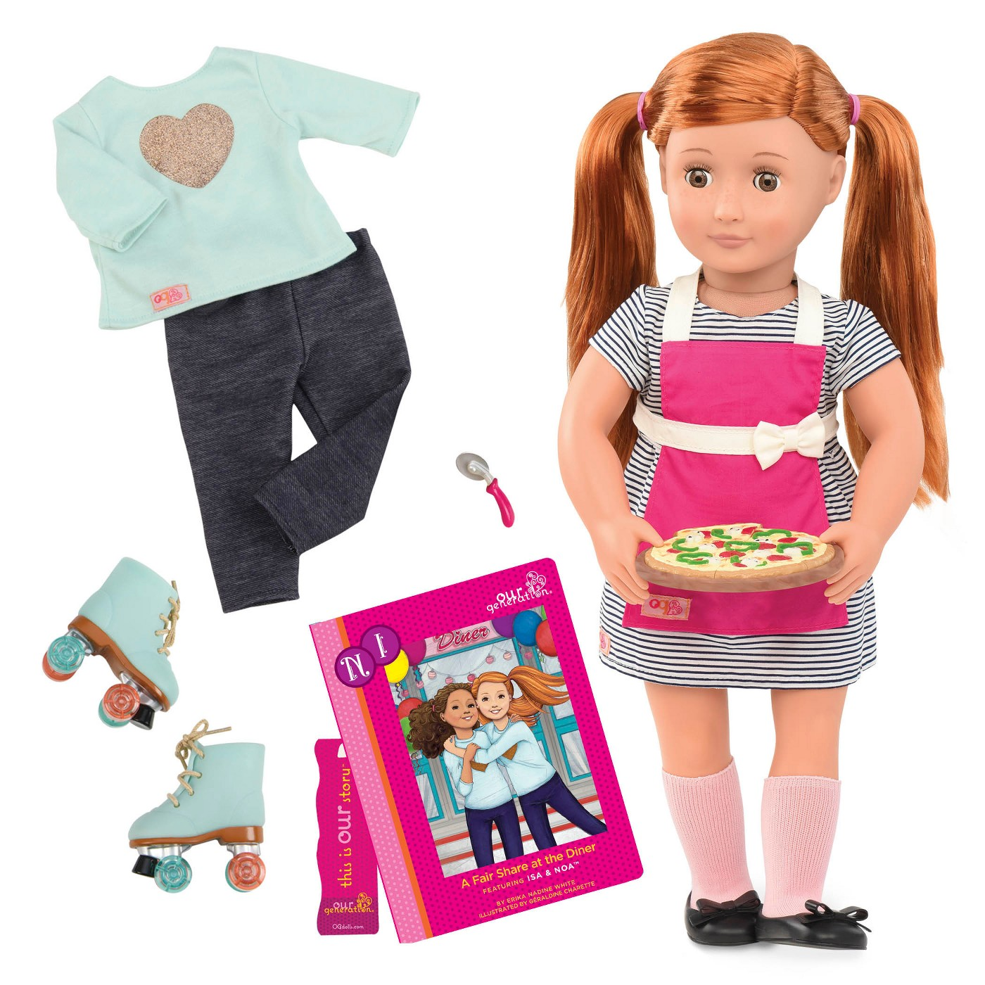 18 Inch Doll 45cm Our Generation Doll With Flexible Arms And Legs18 Inch Doll 45cm Our Generation Doll With Flexible Arms And Legs