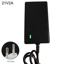 8.4-42V 1A 2A Li-ion Battery Charger Li-battery Durable EU/US Plug Electric Power Adapter With Indicator Light Multifunction(China)