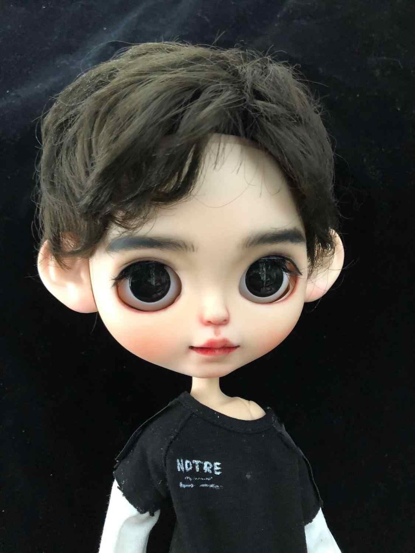 Предпродажная кукла на заказ, сделай сам, Обнаженная кукла Блит для девочек, Обнаженная кукла мальчик