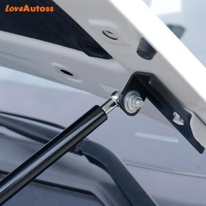 Image 4 - 2 pièces voiture style capot avant couvercle de moteur tige hydraulique jambe de force ressort barre de choc pour Renault kadjar 2015 2016 2017 2018 2019