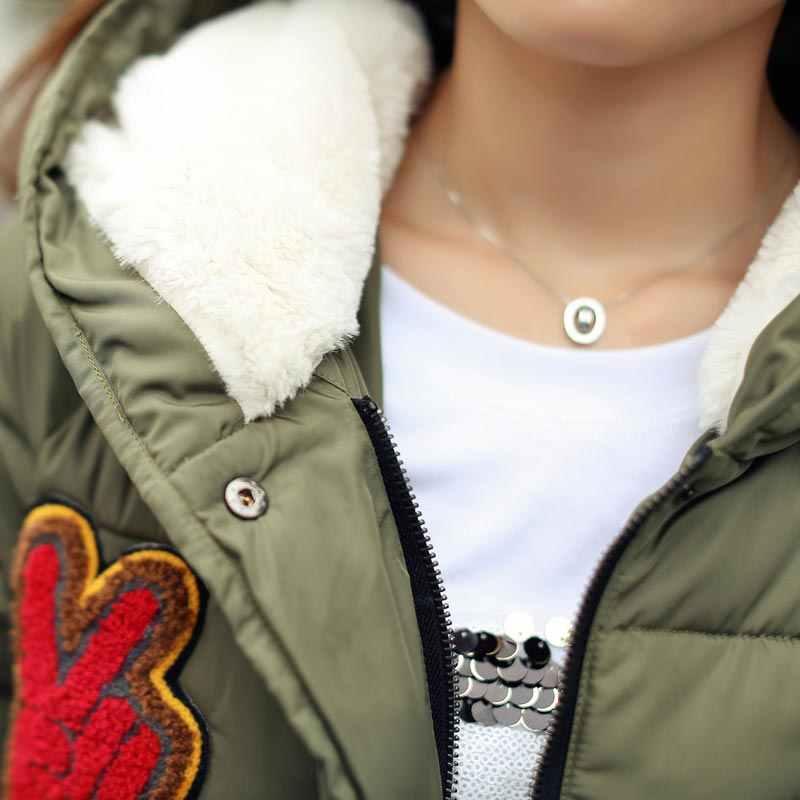 Новинка 2016, зимняя куртка для женщин, военный принт, парка, утиный пух, свободный крой, пальто средней длины, pathchwork, размера плюс, пальто, snoewar