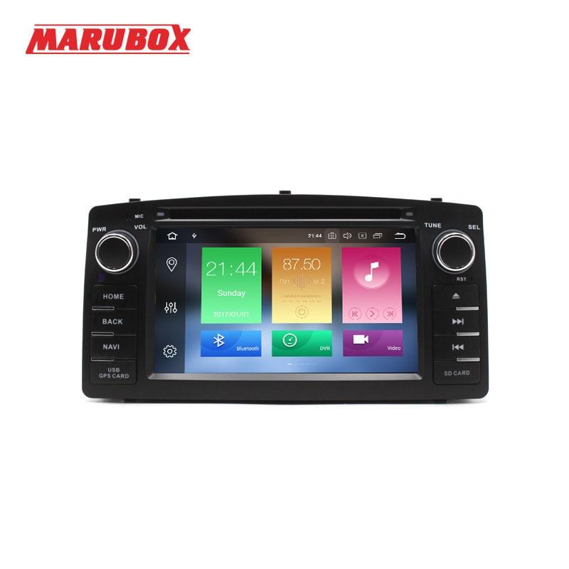 MARUBOX Head Unit For Toyota Corolla E120 BYD F3 2Din Android 8 0 4GB RAM GPS