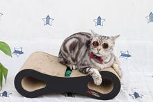 2019 NEW Cat Scratcher Lounge Fat Bed Cardboard Paper High Quality Toy Scratching Pad