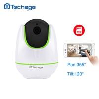 Techage New Mini Wireless Wifi HD 720P Smart IP Camera P2P Baby Monitor CCTV Security Network