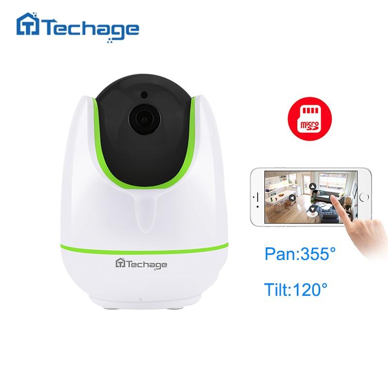 bilder für Techage Home Security 720 P Ip-kamera Wireless Smart WiFi Kamera WI-FI Audio Record Überwachung Baby Monitor HD Mini CCTV kamera