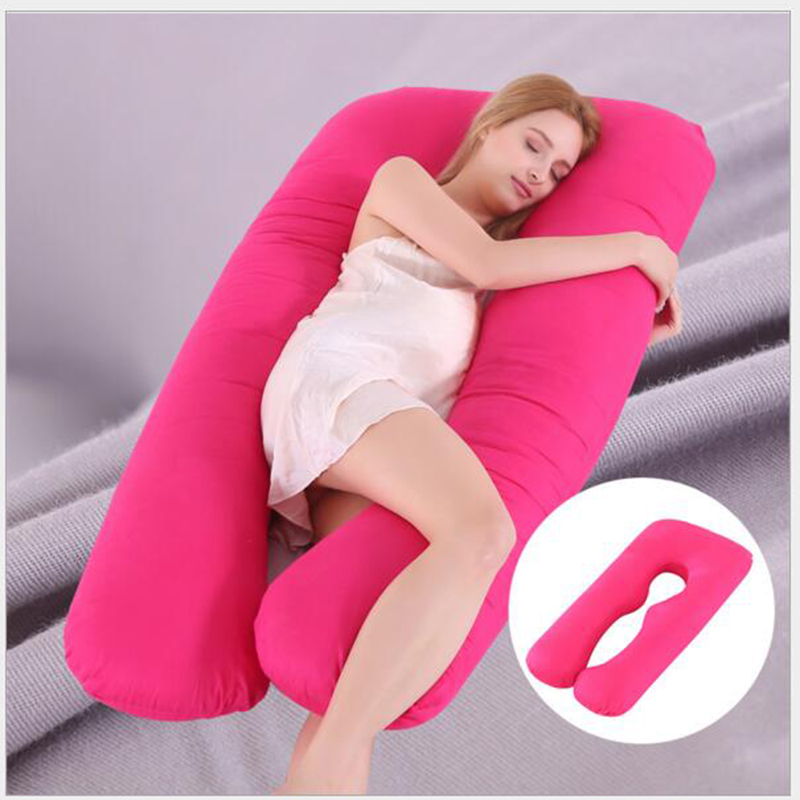 Pregnancy Pillow Bedding Full Body Pillow for Pregnant Women Comfortable U Shape Cushion Long Side Sleeping Maternity Pillows