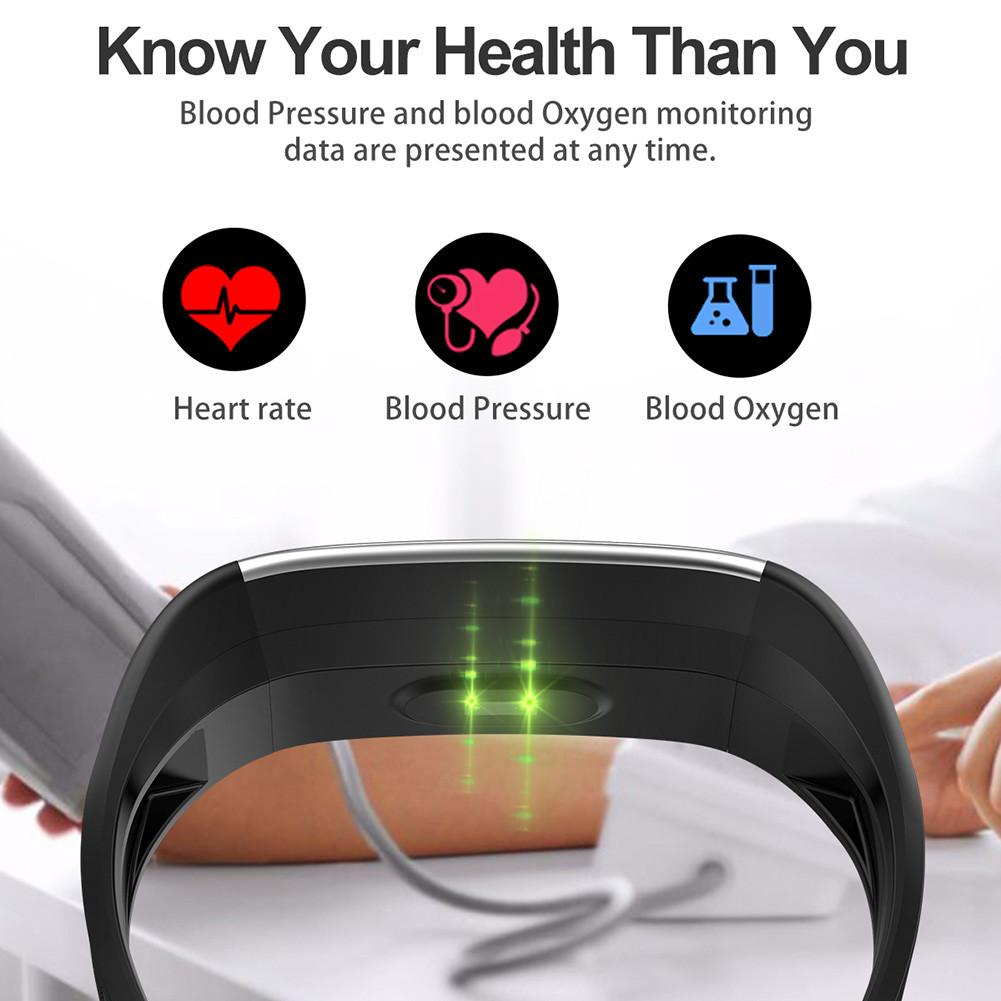 Image 5 - New R1 Smart Watch Men Women Heart Rate Monitor Pressure Fitness Tracker Smartwatch Sport Wristband For Ios Android PK Mi Band 4-in Smart Wristbands from Consumer Electronics