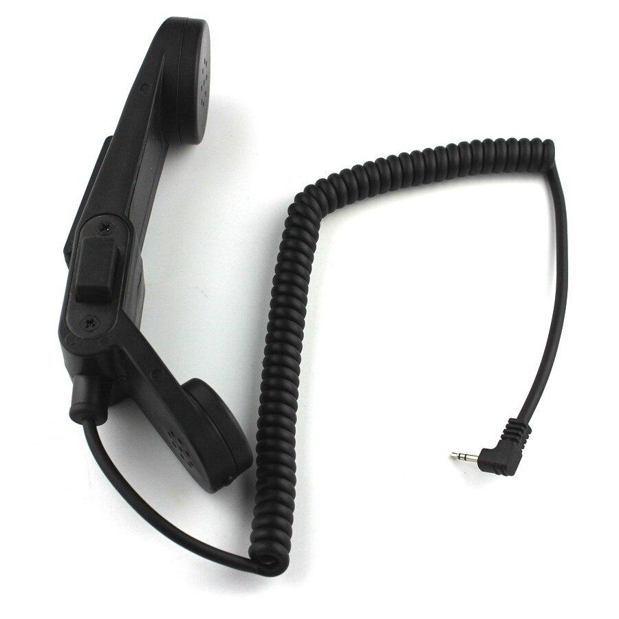 Walkie Talkie Handphone  Hand Mic Z-TAC Element H250-PTT Communication Station Handle Microphone For T6200 T5300 T7618