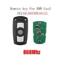 868MHz 3Button Remote Car Key for BMW E60 E61 E70 E71 E72 E81 E82 E87 E88 E90 E91 E92 E93 KR55WK49123 Smart Key PCF7945Chip