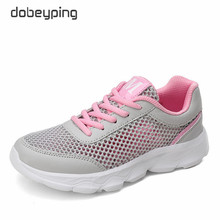 Summer Casual Shoes Woman Lace-Up Platform Flats Female Breathable Air Mesh Women Shoe Soft Ladies Sneakers New Walking Footwear wetkiss new design cow leather women s sneakers fashion ladies flats lace up casual shoes female walkable footwear