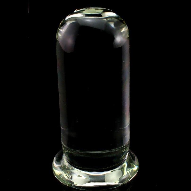 6.1 cm énorme godemiché en verre 0.98 kg Crylinder verre grande verrerie pénis cristal Plug Anal Sex Toys pour femmes plaisir baguette