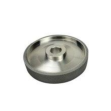 Алмазные шлифовальные круги CBN, шлифовальный круг, диаметр 150 мм, металлический камень, шлифовальный электроинструмент, аксессуары 80 #150 #240 #...