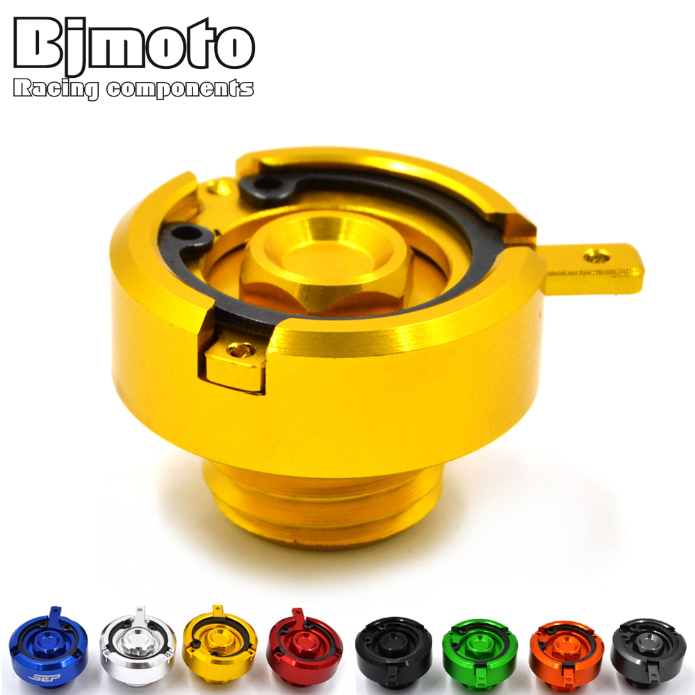 BJMOTO M20*2.5 Motorcycle CNC Aluminum Engine Oil Filter Cup Plug Cover Screw For Yamaha Tmax 500 530 MT09 FZ09 FJ09 car styling tail lamp case for mazda cx 5 2012 2015 tail lights led tail light rear lamp led drl brake park signal