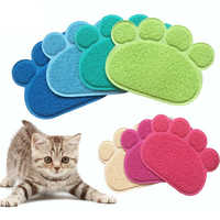 Pet Puppy Dog Cat Litter Mat Claws Pet Small Footprint Foot Sleeping Pad Placemat Cleaning Carpet Cat Litter Mat Cat Trapper Mat