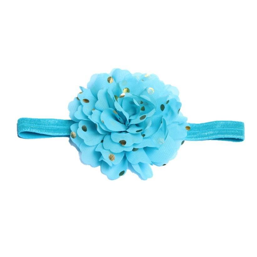 BMF TELOTUNY Fashion Cloth Headbands Newborn Toddler Kids Baby Girls Flowers Headbands Headband Photography Props May28