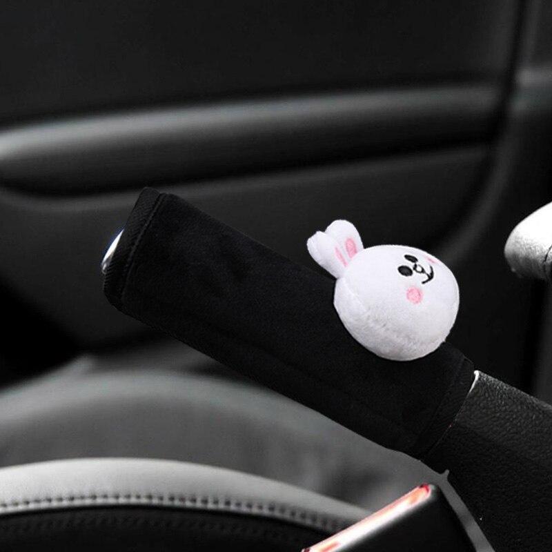 Cute-Cartoon-Bear-Car-Interior-Accessories-Plush-Universal-Steering-Wheel-Cover-Seat-Belt-Cover-Rearview-mirror (1)