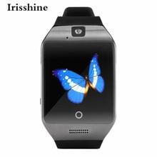 Irisshine c6 u nisexนาฬิกาq18sสมาร์ทบลูทูธนาฬิกาgsmกล้องบัตรtfนาฬิกาข้อมือสำหรับsamsungขายส่งจัดส่งฟรี