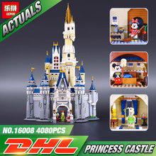LEPIN 16008 Cinderella Princess Castle City Model Building Block Kid Educational Toys For Children Gift Compatible