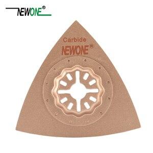 Image 5 - STARLOCK Type One piece NEWONE E cut Circular Carbide and Diamond Oscillating Multi Tool Saw Blades Triangle Rasp
