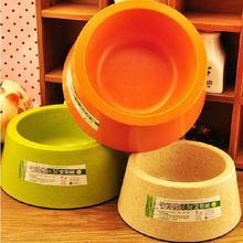 Bezpieczeństwo nietoksyczny bez smaku wysokiej wytrzymałości włókno bambusowe z materiału miska dla psa koty Puppy Travel karmienie podajnik żywności miski wodne