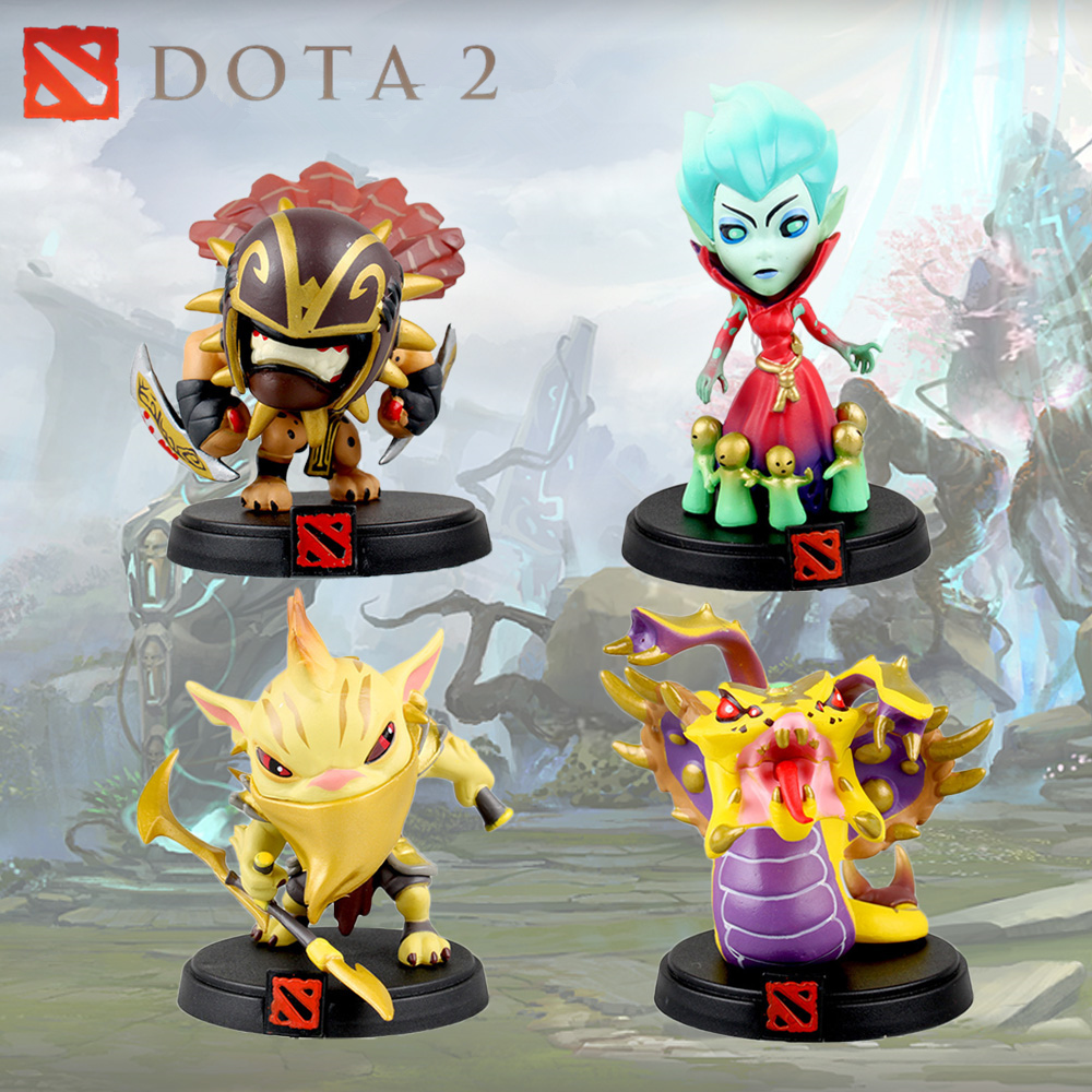 DOTA 2 Moba Game Figure Venomancer Death Prophet DP Bloodseeker Bounty Hunter BH PVC Model Action Figures Collection Toys Gift