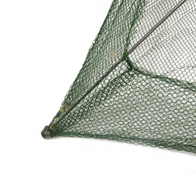 Amazing No.1 Square Fishing Landing Net Trap Fishing Accessories cb5feb1b7314637725a2e7: 100x100cm|60x60cm|80x80cm