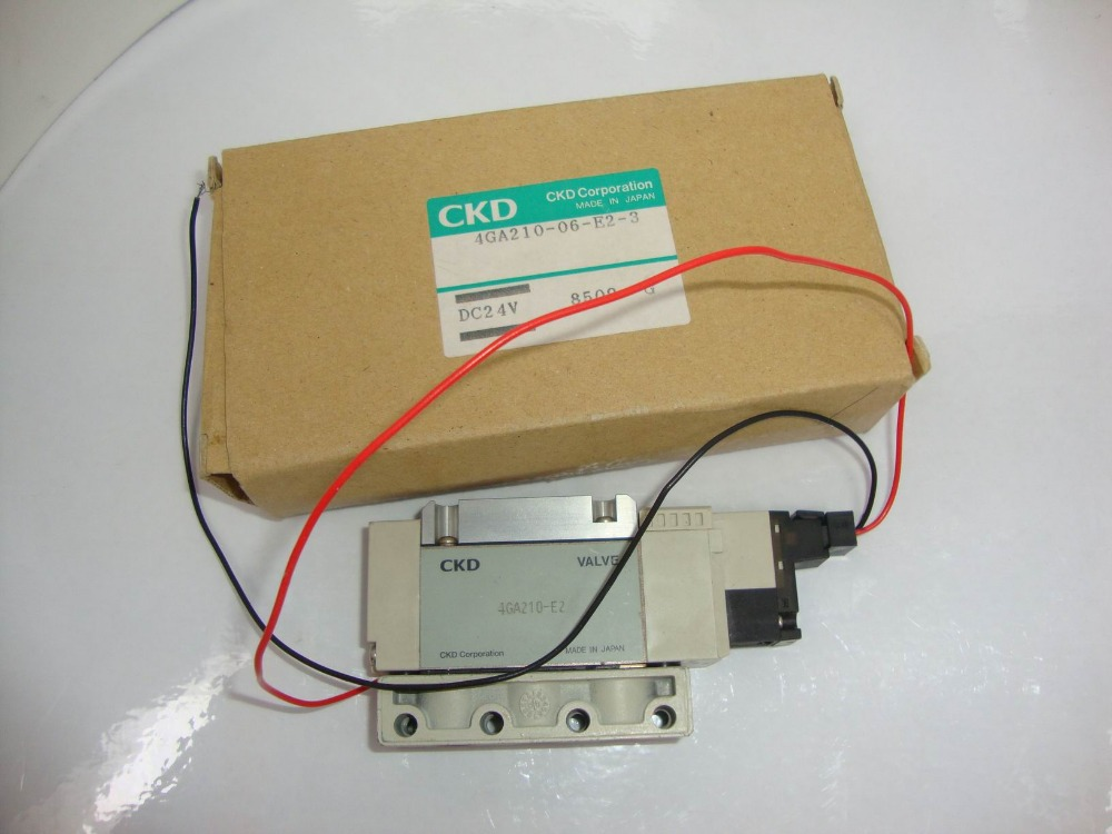 Japan CKD valve pneumatic valve solenoid valves 4GA210-06-E2-3 цена