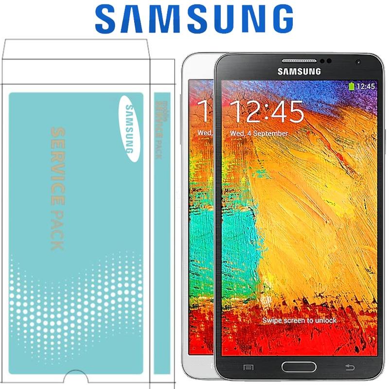 ORIGINAL SUPER AMOLED 5.7'' LCD with Frame for SAMSUNG Galaxy Note 3 Note3 N9005 LCD Display Touch Screen Digitizer Assembly-in Schermi LCD per cellulare da Cellulari e telecomunicazioni su  Gruppo 1