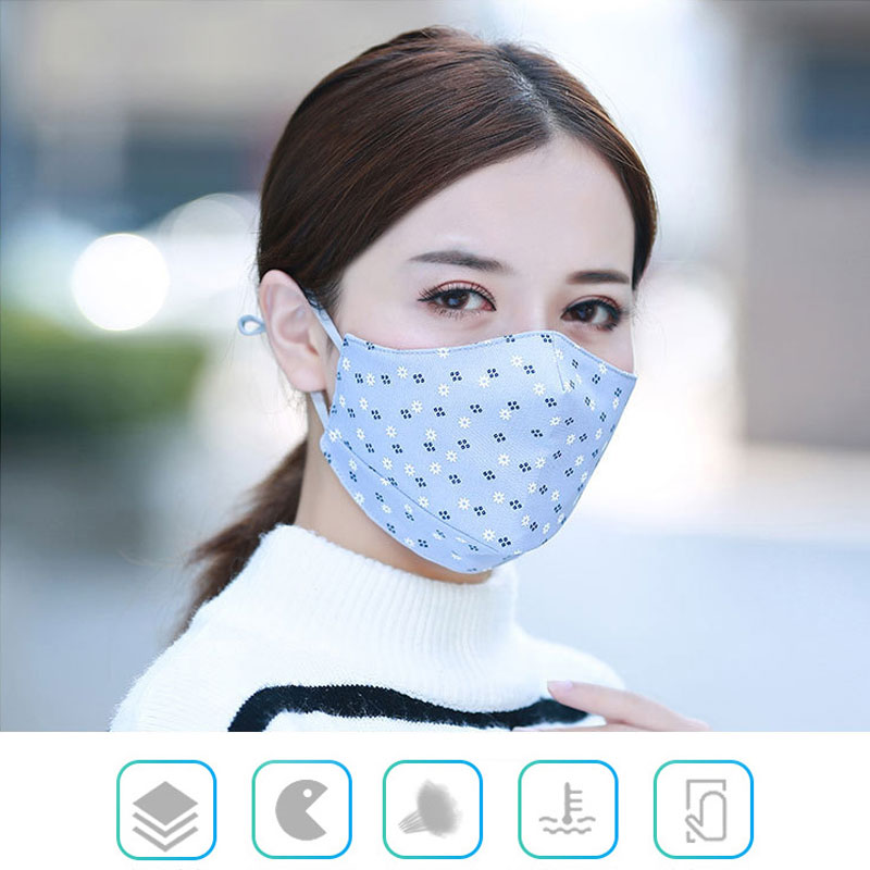 Women's Masks Women's Accessories Faithful 1pcs Fashion Face Mouth Mask Anti Dust Filter Windproof Mouth-muffle Bacteria Proof Flu Care Reusable