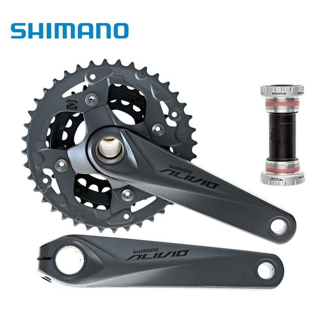 Shimano Alivio M4050 Crank Crankset Fc M4050 With Bb Hollowtech