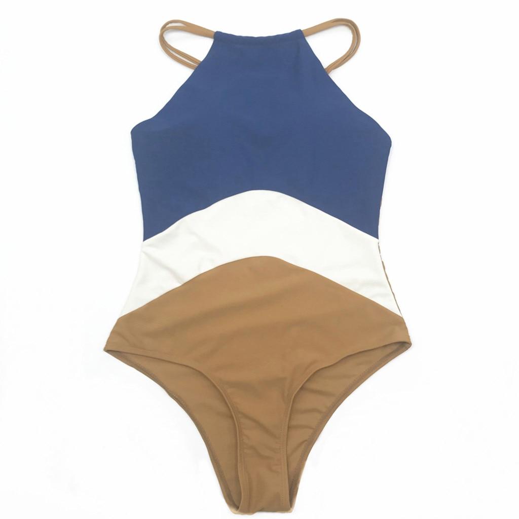 Contemplative Women Swimwear One Piece Sexy Hatler Plus Size Push-up Monokini Thong Bikini Bathing Swimsuit For Summer Beach Party 18dec5 Lustrous Surface